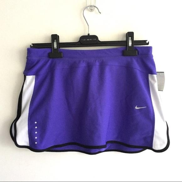 Nike DRY FIT Tennis Running Skirt Blue / Purple M